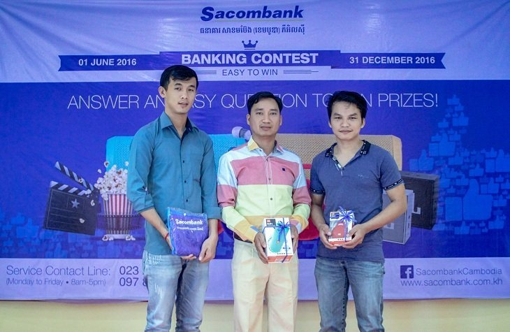កម្មវិធី Banking Contest – Easy to Win​