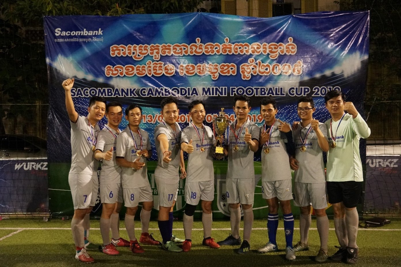 Silver Medals for Peace team