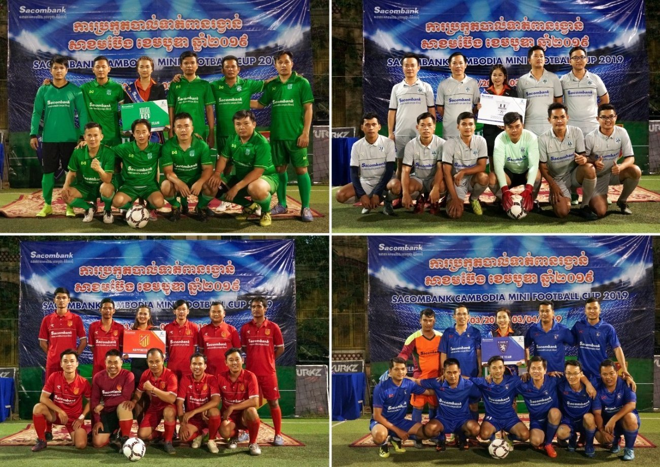 The Opening Ceremony of Sacombank Mini Football
