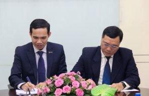 MOU SIGNING CEREMONY Sacombank Cambodia & King Technology Company